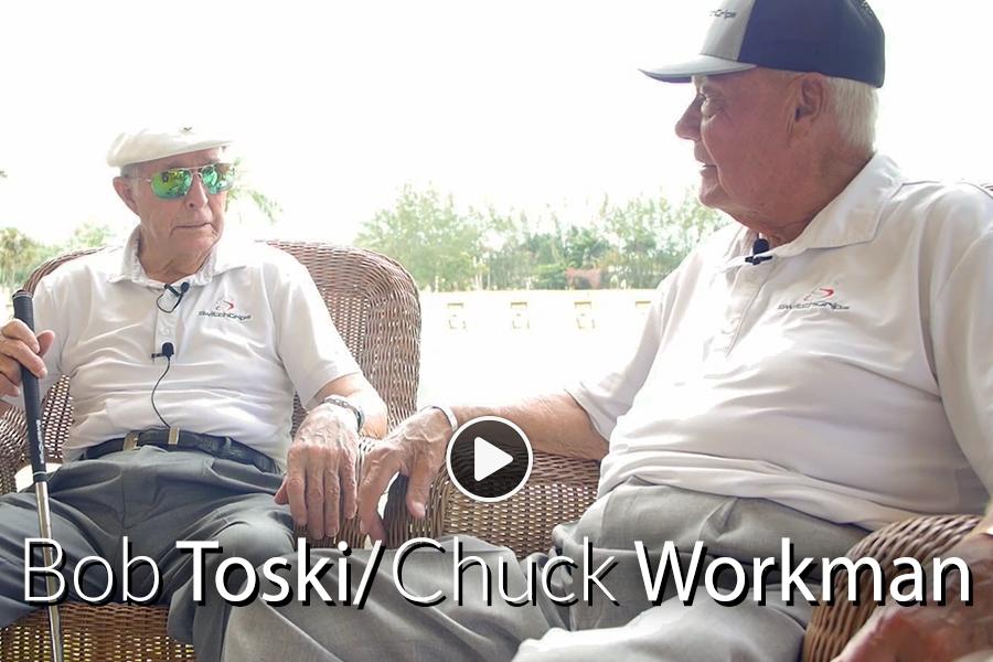 Bob Toski and Chuck Workman